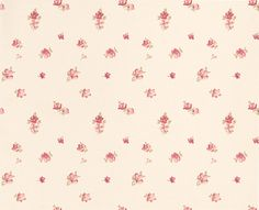FABRIC PRINT | Abbeville  Pink wallpaper by Laura Ashley |