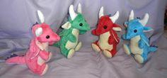 Custom Stuffed Dragon Cute Stuffed Toy Made by FlyingFennecCrafts