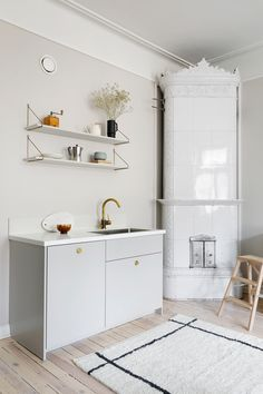 Personal kitchens, wardrobes and storage units built on IKEA cabinet frames. Doors, handles, taps, sinks and tabletops. Quality and design for a reasonable price. Ikea Cabinets, Storage Spaces, Storage Units, Sideboard, Double Vanity, Beautiful Homes, The Unit, Interior, Furniture