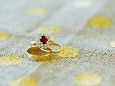 Wedding Rings: Photo by Elizabeth Henson Photos via Heather Renee Celebrations