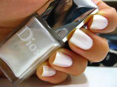 Dior Nail Polish, Silver Lake, 20th Anniversary, Swan, Hair Beauty, Nails, Ideas, Metal, Finger Nails