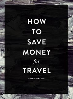 My travel savings are currently in a Mason jar in a hidden location. Probably need to find something with better insurance...