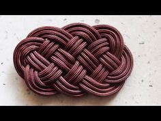 Follow this step-by-step tutorial video to learn how to make a climbing rope rug using the ocean plait method and a retired climbing rope. The pace of the vi...