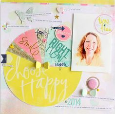 Paper crafting + life documenting magazine for the modern day memory keeper.