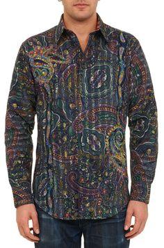 Robert Graham Limited Edition ZAZOO Shirt, Style RF141615, Fall 2014