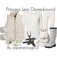 Princess Leia Disneybound
