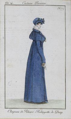 1805-06 An 14 Costume Parisien No 677 SceneInThePast
