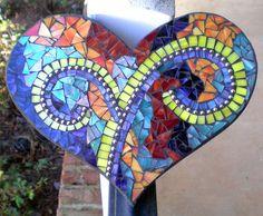 Mosaic Heart Trivet