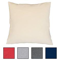 """""""Das Kissen Deiner Träume"""" Relaxkissen für Bett, Couch-und Sofa mit softweicher Füllung und Bezug in 5 Farben zur Auswahl. Kopfkissen, Sofakissen, Dekokissen Größe 60x60 cm"""