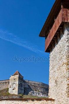 Rasnov citadel in Brasov Romania