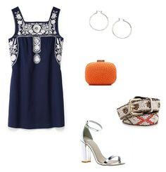 Look ethnic dress formal