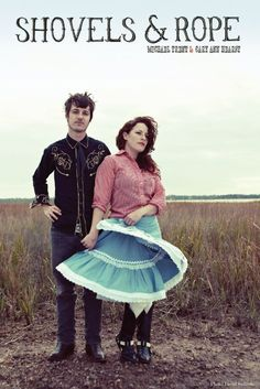 "Shovels and Rope- southern vibe, harmonica (""Boxcar"", ""The Thread"")"