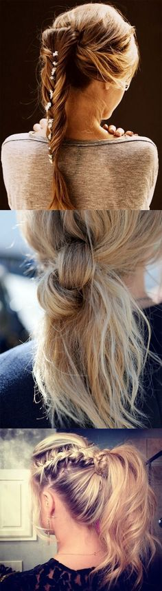 Ponytail hairstyles we like... :)