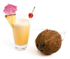 Pina colada  #coconut #ananas