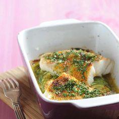 Découvrez la recette Cabillaud en croûte d'herbes et d'épices sur cuisineactuelle.fr.