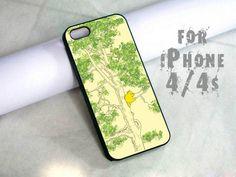 vintage winnie the pooh - design case for iphone 4,4s | shayutiaccessories - Accessories on ArtFire