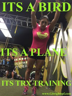 What are you doing at lunch time? #superman #superwoman #trxtraining #lunchtime #trainer #humpday #psalm23 #GODSSOLDIERS#underarmour @underarmour @trxtraining #GITRIGHT