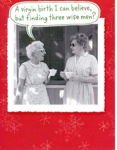 ....finding three wise men?
