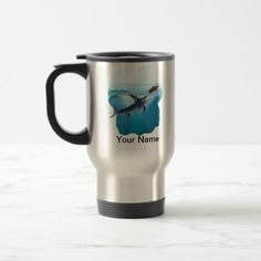 Marlin Sports Fishing travel mug - Unique   fishing bday party, fishing with luiza, fathers day gifts fishing #rodmaker #tshirtoftheday #tshirtonline, 4th of july party