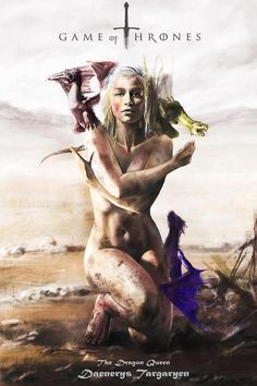 Game Of Thrones, Emilia Clarke, Daenerys, Naked With Baby Dragons. Daenerys Targaryen, Khaleesi, Arte Game Of Thrones, Game Of Thrones Fans, Emilia Clarke, Jon Snow, The Mother Of Dragons, Game Of Throne Daenerys, Game Of Trones