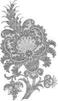 Gallery.ru / Фото #97 - Embroidery II - GWD Irish Crochet, Crochet Motif, Crewel Embroidery, Embroidery Patterns, Hamsa Design, Doodles Zentangles, Tapestry, Jacobean, Quilts