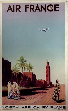Anciennes affiches d'Air France ancienne affiche air france