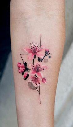 20 Pink Tattoo canons pour se d marquer des autre Mini Tattoos, Rosa Tattoos, Body Art Tattoos, Small Tattoos, Sleeve Tattoos, Tatoos, Arm Tattoos, Piercing Tattoo, Aquarell Tattoos