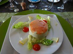 BAVAROIS D'ASPERGE AU SAUMON (thermomix) - Blog cuisine Thermomix avec recettes pour le TM5 & TM31