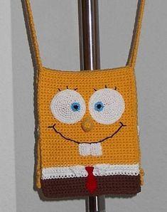 Sponge Bob Square Pants purse - free pattern