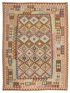 Kelim Afghan Old style-matto 217x292