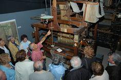 Le musée du tissage à Bussières