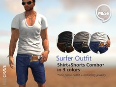 5a768b9cce 11 Best SL MALE CASUALwear images | Casual outfits, Second life ...