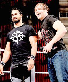 Dean Ambrose & Seth Rollins 5/13/16