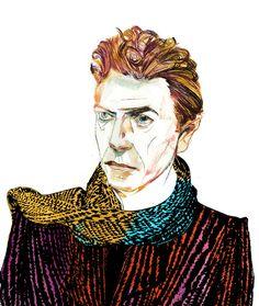 Riccardo Vecchio - David Bowie