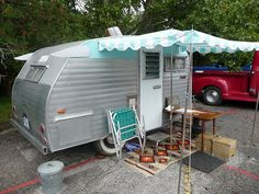 Vintage trailer. And someone to tow it for me (I don't do well with towing things).