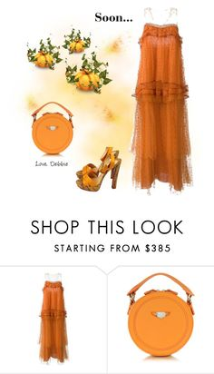 """Soon..."" by debbie-michailides ❤ liked on Polyvore featuring Chloé, Carven and Christian Louboutin"