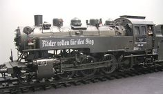 """Die BR 86 in klassischer Reichsbahn-""""Schönheit""""."""