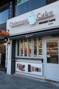 www.kurtos-kalacs.com Its great to see the first image of our customer in Korea's new Chimney cake Cafe...