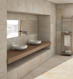 carrelage travertin salle de bain - Recherche Google