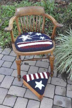 Americana Chair Pad