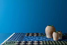 Alfombra Siracusa de Gan.  KILIM.  Diseño: Sandra Figuerola.  Muebles de diseño.