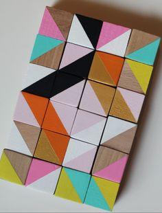 Painted Wooden Blocks