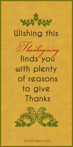 Wishing thanks holiday thanksgiving pinterest pinterest quotes blessings thanksgiving quotes turkey day