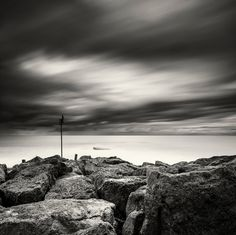 """Solitude"" Taken on October 2011 Canon EOS Mark II Canon EF USM Exposure 120 seconds @ Filter used Lee Big Stopper and 2 stop hard grad Martin Mattocks Lee Filters, October 25, Canon Ef, Solitude, Eos, Clouds, Landscape, Outdoor, Image"