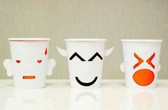 Emoticons you can drink from - Emoji Paper Cups - Creative Bloq