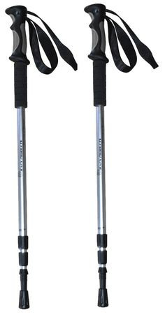Bafx Products 1 Pair Poles) Adjustable Anti Shock Strong & Lightweight Aluminum Hiking Poles for Walking or Trekking Camping And Hiking, Hiking Gear, Hiking Trails, Camping Hacks, Hiking Accessories, West Highland Way, Appalachian Trail, Trekking, Walking