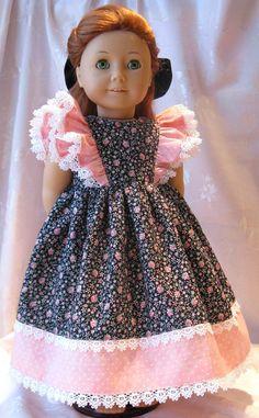 American Girl Doll Dress by Sparkkl on Etsy