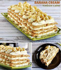 Banana Cream Icebox Cake