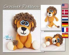 Amigurumi Pattern Monkey Animal Crochet Pattern by LovelyBabyGift