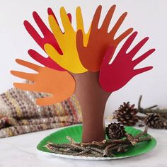 Branches, Centre, Parents, Kids, Fun Crafts, Diy Crafts, Spring Tree, Dads, Young Children